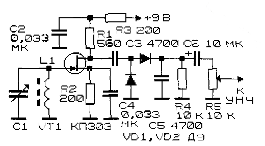 конвертора на 144 мгц на полевых транзисторах