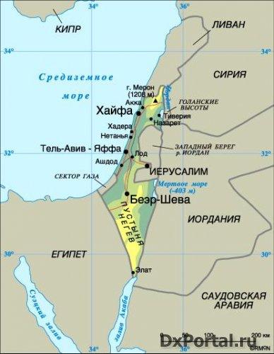Начало радиолюбительства в Израиле